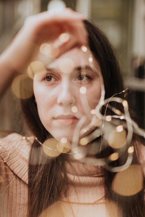fairy light photography model